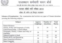 Check RSMSSB Patwari Exam Syllabus 2020 for Hind