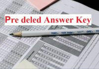 pre deled Answer Key 2021 Pdf Download Solved Paper 31 August Pre BSTC